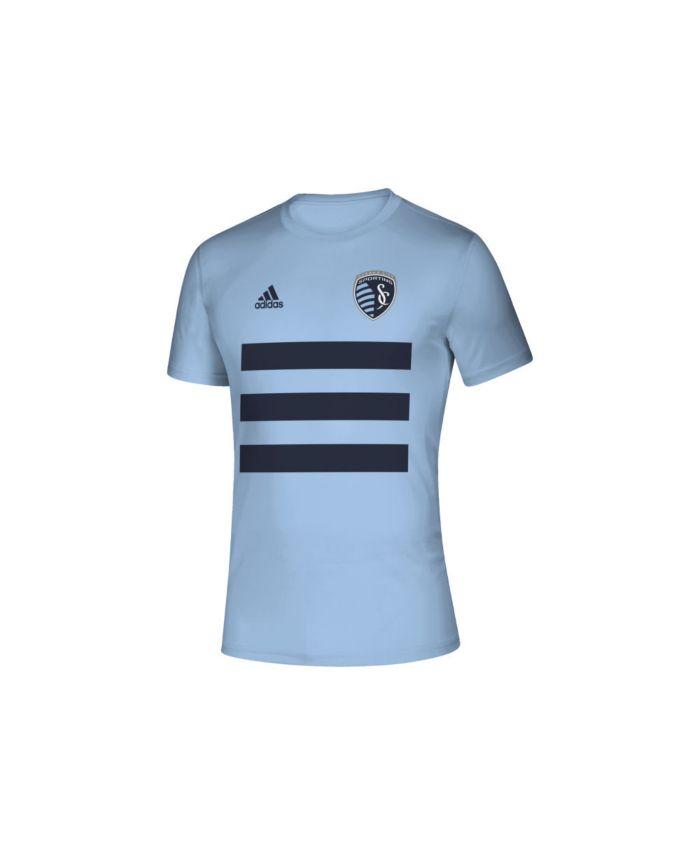 Adidas Men's Sporting Kansas City Three Stripe Life Pitch Creator T-Shirt & Reviews - Soccer - Sports Fan Shop - Macy's