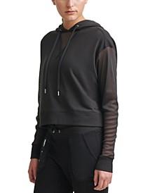 Sport Mesh-Sleeve Hoodie