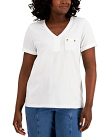 Utility Pocket T-Shirt, Created for Macy's
