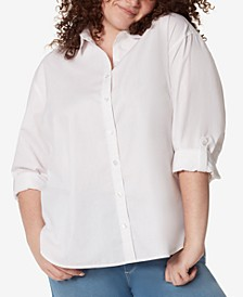 Plus Size Amanda Button-Up Shirt