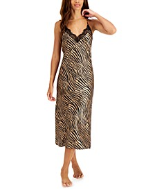 Tiger-Print Nightgown, Created for Macy's