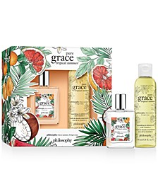 2-Pc. Pure Grace Tropical Summer Gift Set