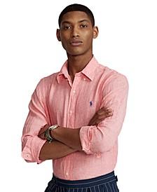 Men's Classic-Fit Linen Shirt