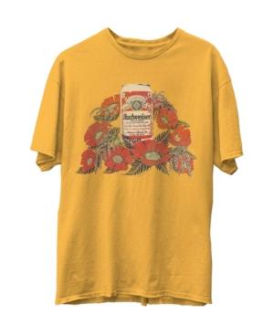 Budweiser Flowers Short Sleeve T-shirt