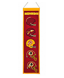 Winning Streak Washington Redskins Heritage Banner