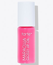 Receive a FREE Deluxe Maracuja Glossy Lip Oil with any $35 Tarte purchase