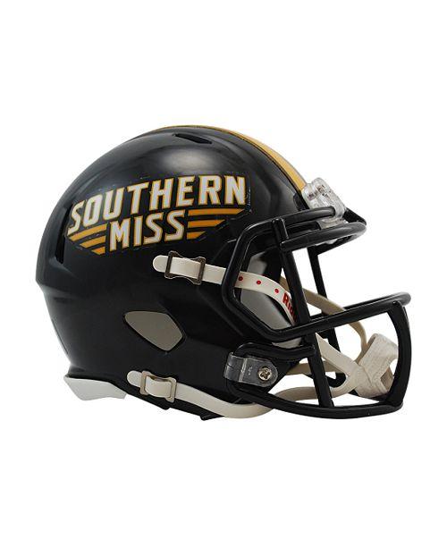 7d4273303edd1 Riddell Southern Mississippi Golden Eagles Speed Mini Helmet ...
