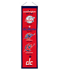 Winning Streak Washington Wizards Heritage Banner