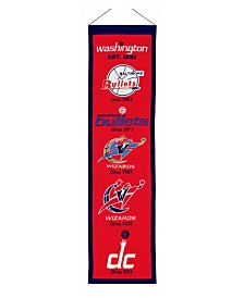 Winning Streak Washington Wizards Heritage Banner