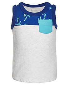 Baby Boys Palm Tree Cotton Tank Top, Created for Macy's