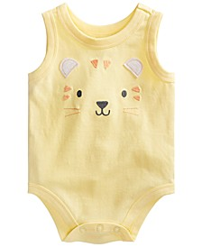 Baby Boys Tiger Face Bodysuit, Created for Macy's