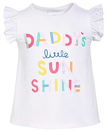Baby Girls Sunshine Cotton T-Shirt, Created for Macy's