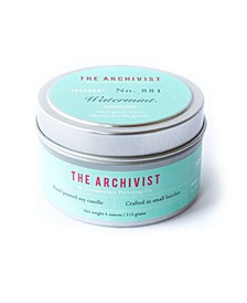 Archivist Watermint Soy Candle, 4 oz