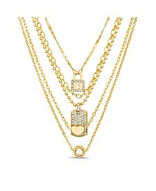 5-Row Layered Necklace