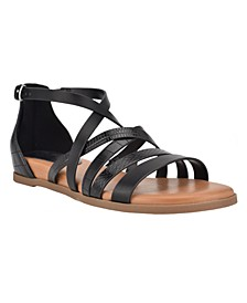 Women's Cealiah Strappy Flat Sandals