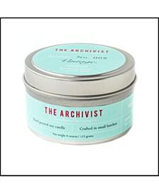 Archivist Vintage-like Soy Candle, 4 oz