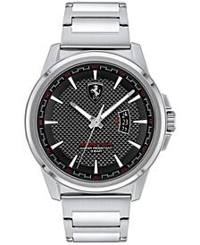 Men's Grand Tour Stainless Steel Bracelet Watch 44mm