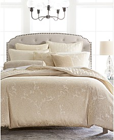 Engraved Paisley King Duvet, Created for Macy's