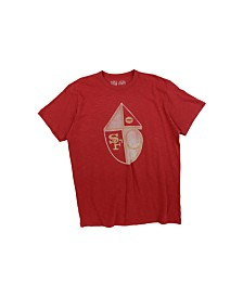'47 Brand Men's San Francisco 49ers Retro Logo Scrum T-Shirt