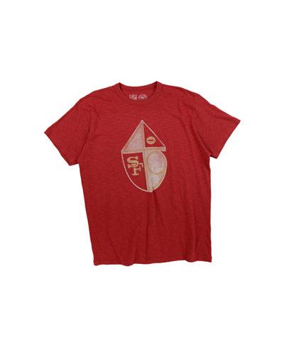 '47 Brand Men's San Francisco 49ers Retro Logo Scrum T-Shirt