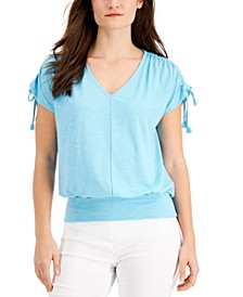 Gathered-Sleeve Top, Created for Macy's