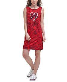 Heart Logo Sleeveless Dress