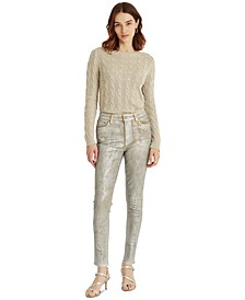 High-Rise Skinny Ankle Jeans