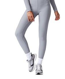 Women's Side Zip Rib Legging