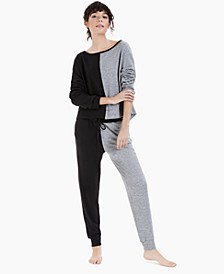 Colorblocked Loungewear Set, Created for Macy's