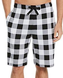 Men's Buffalo Plaid Pajama Shorts