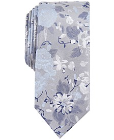 Men's Hilton Floral Slim Tie, Created for Macy's