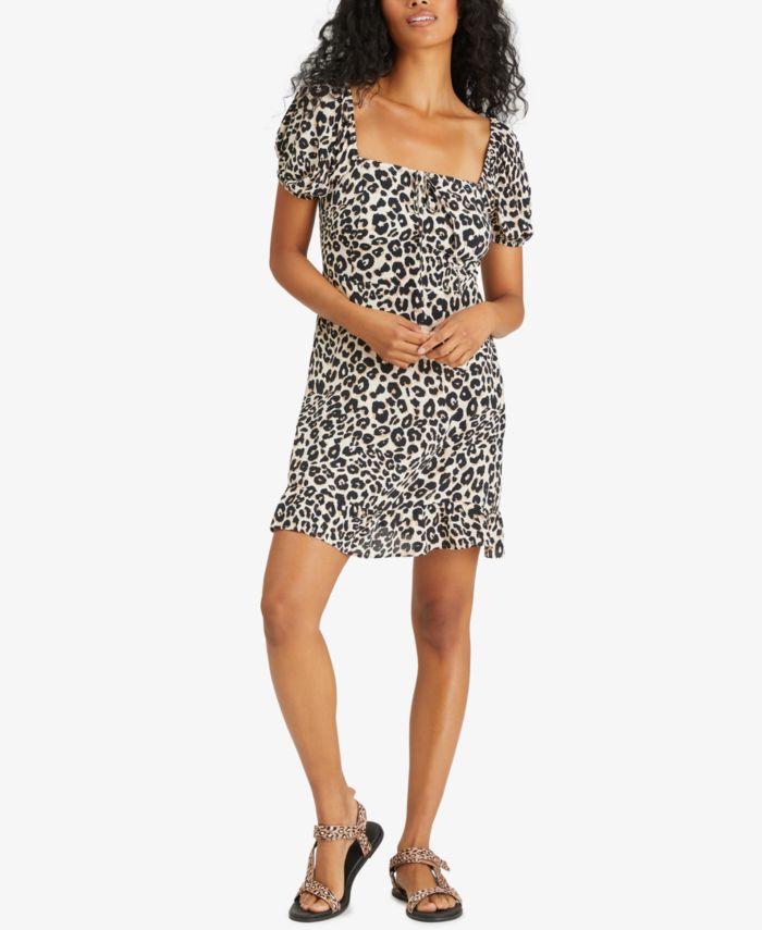 Sanctuary Fresh Breeze Printed Ruffled-Hem Dress & Reviews - Dresses - Women - Macy's