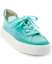 Women's Ryley Laceup Lucite Sneakers