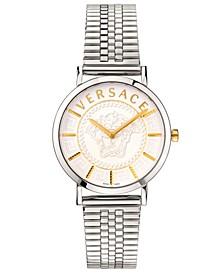 Women's Swiss V Essential Stainless Steel Bracelet Watch 36mm