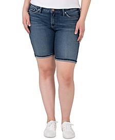 Plus Trendy Suki Bermuda Shorts