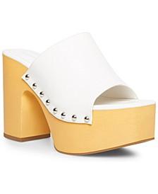 Harrps Studded Platform Sandals