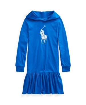 Polo Ralph Lauren Cottons BIG GIRLS BIG PONY COTTON JERSEY T-SHIRT DRESS