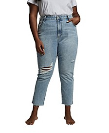 Trendy Plus Size Taylor Mom Jeans