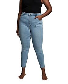 Trendy Plus Size Adriana High Skinny Jeans