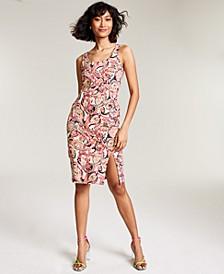 Printed Sheath Dress, Created for Macy's