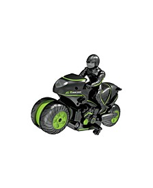 Remote Controlled Stunt Motorcycle