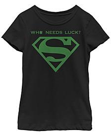 Big Girls Who Needs Superman Short Sleeve T-shirt