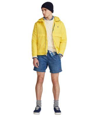 폴로 랄프로렌 Polo Ralph Lauren Mens 6.5-Inch Polo Prepster Denim Shorts,Blane