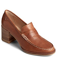 Women's Seaport Penny Block-Heel Loafers