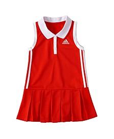 Little Girls Sleeveless Polo Dress