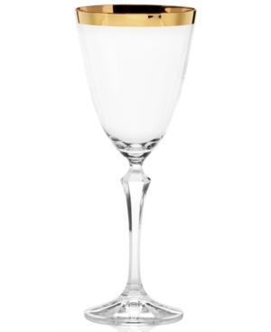 Mikasa Serenity Gold Red Wine Glass