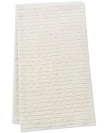 "Clean Color Cotton Pyramid Jacquard 30"" x 54"" Bath Towel"
