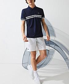 Men's Striped Trim Polo Shirt