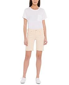 Ella Tummy-Control Denim Shorts