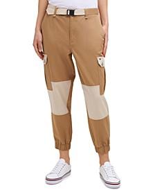 Two-Tone Cargo Pants